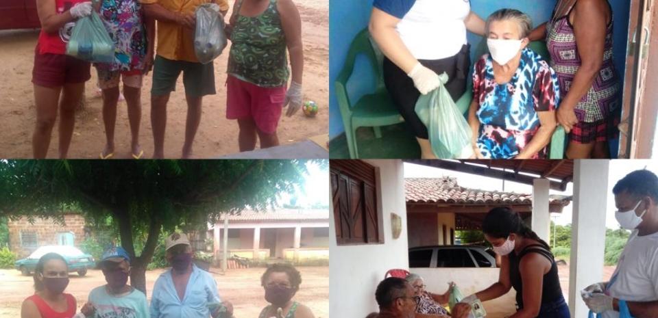 2ª entrega dos kits de higiene sanitária para toda a população idosa do Município