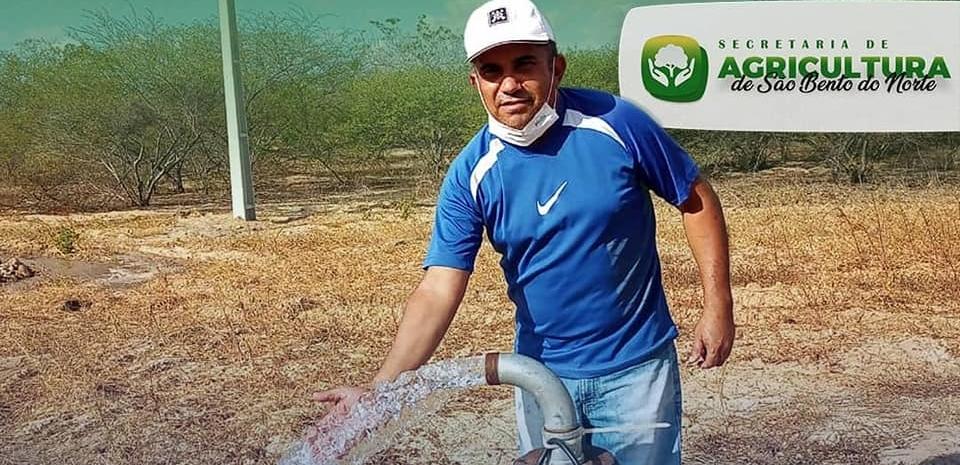 Doação de equipamentos de irrigação